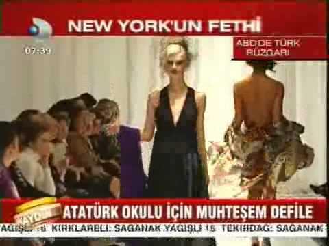 Amerika Türk Kadınlar Birliği New York Defilesi