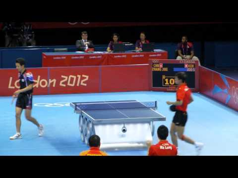 Zhang Jike vs Joo Se Hyuk - London 2012 Olympics