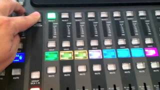 Behringer x32 Tutorial - Pre and post Bus assignments
