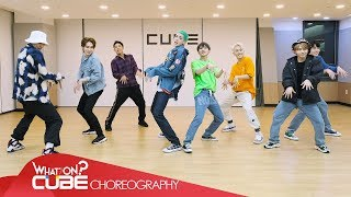 "PENTAGON - ""Naughty boy"" (Choreography Practice Video)"