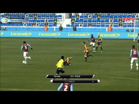 Hull City-West Ham United 1:1 [21 kolejka NpowerChampionship] PES 2012