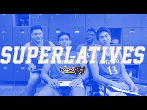 Superlatives Game with the ADMU Blue Eagles  UAAP 81 Exclusive