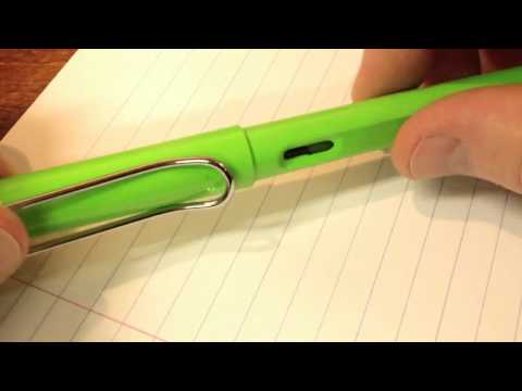 Lamy Safari Fountain Pen - ASMR Whisper