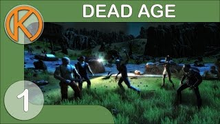 ZOMBIE APOCALYPSE | Dead Age - Ep. 1 | Steam Gameplay / Let's Play Zombie RPG