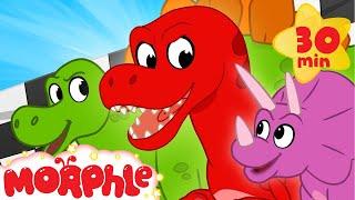 Dinosaur Race - My Magic Pet Morphle | Cartoons For Kids | Morphle TV | BRAND NEW