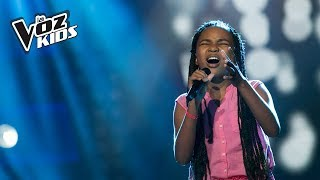 Velotina canta No Quererte - Audiciones a ciegas | La Voz Kids Colombia 2018