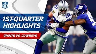 download lagu Giants Vs. Cowboys First-quarter Highlights  Nfl Week 1 gratis