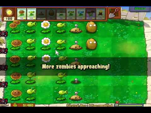 Plants Vs Zombies: Pequeño Gameplay Video