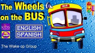 Learning Spanish: THE WHEELS ON THE BUS - with Lyrics