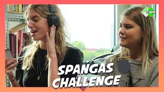 SpangaS CHALLENGE | Try to guess the song challenge met Iris Amber en Renée
