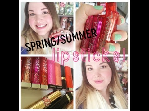 Spring/Summer Lipstick Picks!