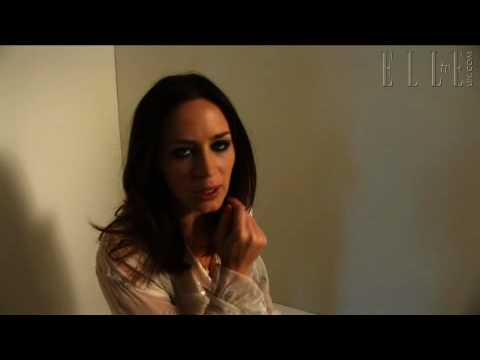 Emily Blunt talks about her first nude scene in the film
