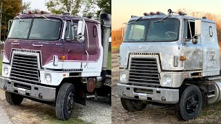 We tried to PATINA the '79 Cummins Cabover but it's impossible