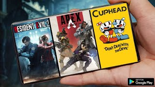 RESIDENT EVIL 2 REMAKE ON MOBILE, APEX LEGENDS MOBILE PRE REGISTER, CUPHEAD MOBILE FOR ANDROID