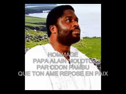 Hommage a Alain Moloto meditations sur ces paroles  french