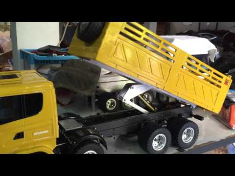 Rc Scania R620 HDL Dump By Pae RcUbon In Thailand