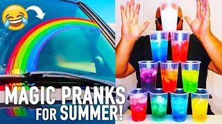 10 Magic Pranks for Summer