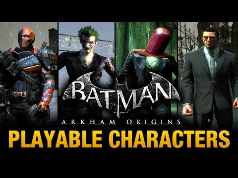 Batman: Arkham Origins - Playable Characters Mod (Free Roam)