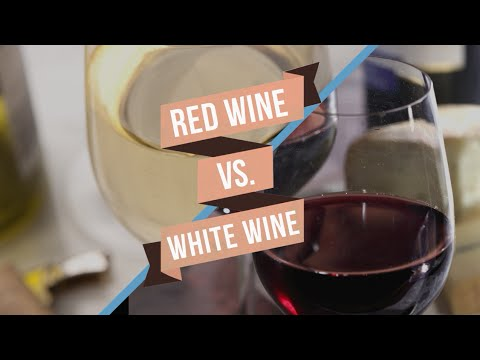 Red Wine vs White Wine