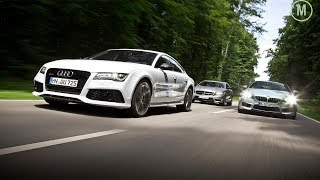 AutoPilot Audi vs BMW vs Mercedes (Remote controle Parking )