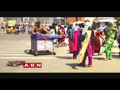 No Shelter From Heat In Bus Stops | People Unable to Commute | Hyderabad | ABN Telugu