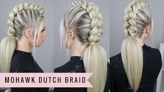 Mohawk Dutch Braid by SweetHearts Hair
