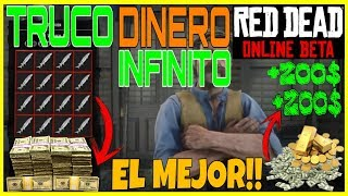 RED RED DEAD REDEMPTION 2 ONLINE TRUCO DINERO INFINITO FACIL Y RAPIDO | Red Dead Online Beta