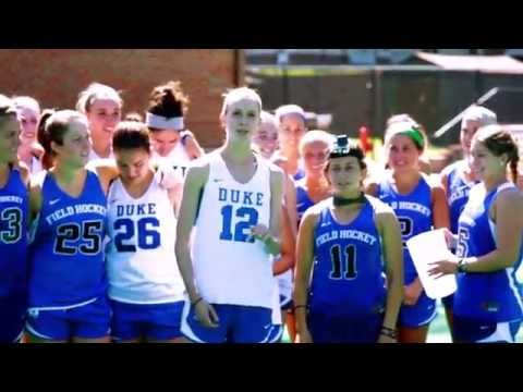 Duke Field Hockey's Ice Bucket Challenge