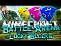 Minecraft: Lucky Block Battle-Arena Part 2 of 2 w/Mitch & Friends! (Lucky Block Mod)