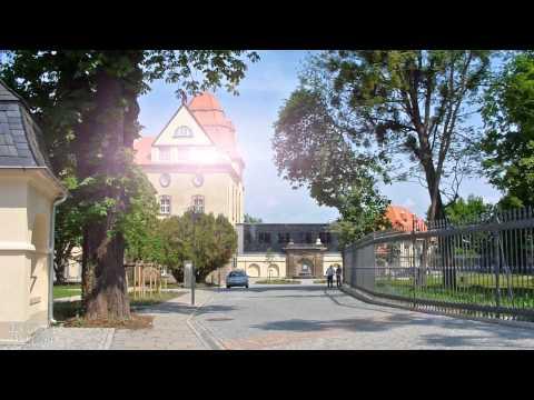 Pirna Stadt an den Ufern der Elbe /  Пирна город на берегу Эльбы
