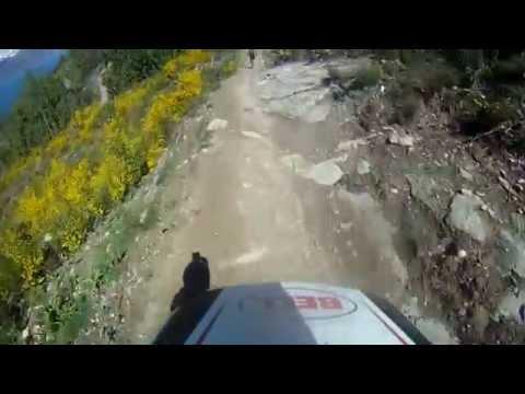 Alex downhill Queenstown 16-11-14