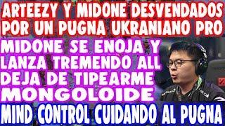 IMPRESIONANTE! PUGNA UKRANIANO Y MIND CONTROL DESVENDAN A MIDONE Y ARTEEZY   DOTA 2