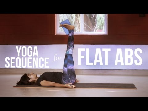 Yoga Sequence for Flat Abs