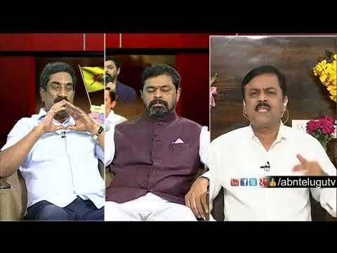 ABN MD Radhakrishna Warns GVL Narasimha Rao | Big Debate | Rk Punch Dialogues