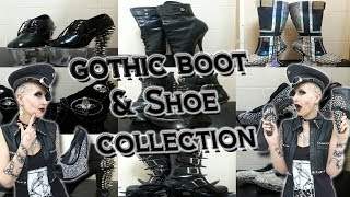 My Gothic Boot + Shoe Collection! | Madame Absinthe