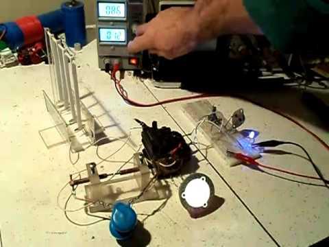 транзисторном осцилляторе