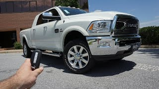 2018 Ram 2500 Laramie Longhorn MegaCab : Start Up, Walkaround, Test Drive and Review