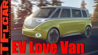 Volkswagen ID Buzz Concept: All-Electric AWD Autonomous Microbus
