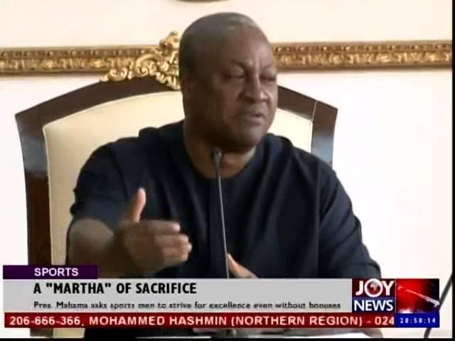 President Mahama Appreciates Martha