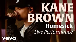Homesick (Official Live Performance) | Vevo x Kane Brown