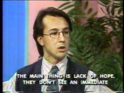 Claudio Martinez on Aquí Following Youth Violence in Jamaica Plain--1993