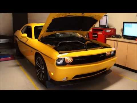 392 SRT8 Challenger on the dyno at RDP