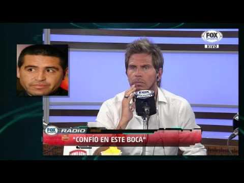 Juan Román Riquelme - Charla, desmiente rumor/verano de Boca 2016 - FOX Sports Radio [02/02/2016]