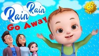 Rain Rain Go Away | Nursery Rhymes & Kids Songs | 3D Rhymes For Children