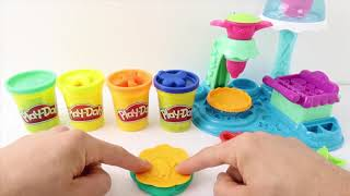 Learn Colors With play doh Machine Fun Toys Nursery Rhymes For Kids and toddlers Education