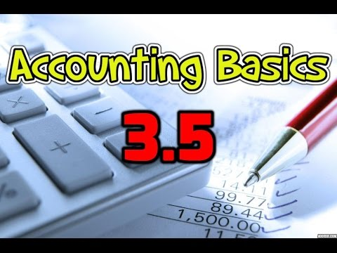 Accounting Basics 3.5: Unearned Revenues