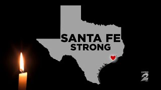 Moment of silence for Santa Fe High School shooting victims
