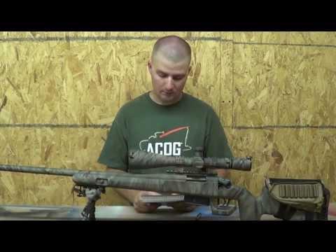 1,000 yard Remington 700 SPS varmint .308