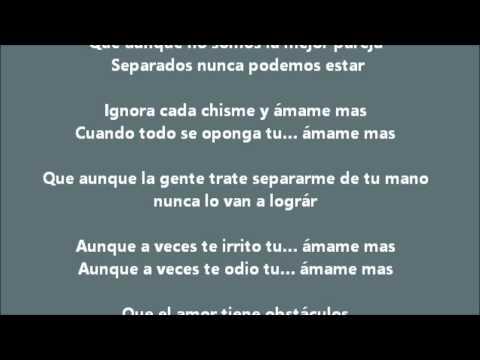 Canción Para Dedicar A Mi Novia | Rap Romantico | Amame Mas - Breiky | Letra