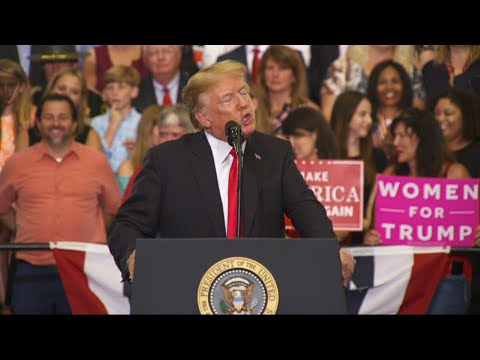 Trump Talks MS-13, Border Wall and Jay-Z